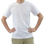 Basic logo Men s T-Shirt (White)