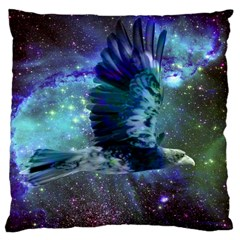 Catch A Falling Star Large Cushion Case (two Sided)  by icarusismartdesigns