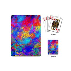 Colour Chaos  Playing Cards (mini) by icarusismartdesigns