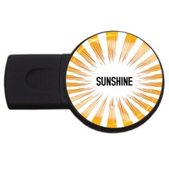 Sun 4gb Usb Flash Drive (round) by centralcharms1