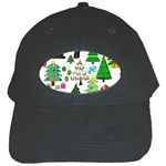 Oh Christmas Tree Black Baseball Cap