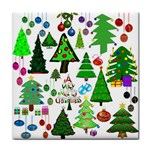 Oh Christmas Tree Ceramic Tile