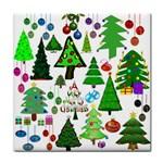Oh Christmas Tree Ceramic Tile