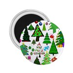 Oh Christmas Tree 2.25  Button Magnet