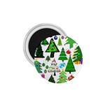 Oh Christmas Tree 1.75  Button Magnet