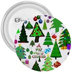Oh Christmas Tree 3  Button