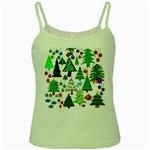 Oh Christmas Tree Green Spaghetti Tank