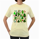 Oh Christmas Tree Women s T-shirt (Yellow)