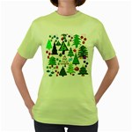 Oh Christmas Tree Women s T-shirt (Green)