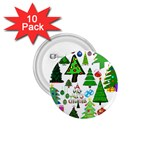 Oh Christmas Tree 1.75  Button (10 pack)