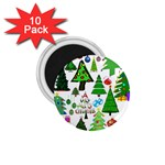 Oh Christmas Tree 1.75  Button Magnet (10 pack)
