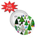 Oh Christmas Tree 1.75  Button (100 pack)