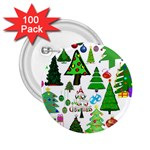 Oh Christmas Tree 2.25  Button (100 pack)