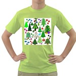 Oh Christmas Tree Men s T-shirt (Green)