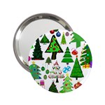Oh Christmas Tree Handbag Mirror (2.25 )