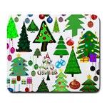 Oh Christmas Tree Large Mouse Pad (Rectangle)