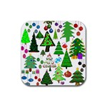 Oh Christmas Tree Drink Coasters 4 Pack (Square)