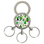 Oh Christmas Tree 3-Ring Key Chain