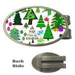 Oh Christmas Tree Money Clip (Oval)
