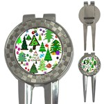 Oh Christmas Tree Golf Pitchfork & Ball Marker