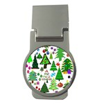 Oh Christmas Tree Money Clip (Round)
