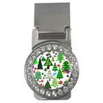 Oh Christmas Tree Money Clip (CZ)
