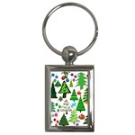 Oh Christmas Tree Key Chain (Rectangle)