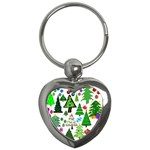Oh Christmas Tree Key Chain (Heart)