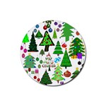 Oh Christmas Tree Drink Coasters 4 Pack (Round)