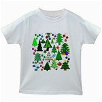 Oh Christmas Tree Kids T-shirt (White)
