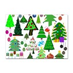 Oh Christmas Tree A4 Sticker