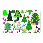 Oh Christmas Tree Magnet (Rectangular)