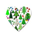 Oh Christmas Tree Magnet (Heart)