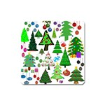 Oh Christmas Tree Magnet (Square)