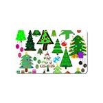 Oh Christmas Tree Magnet (Name Card)