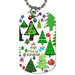 Oh Christmas Tree Dog Tag (One Sided)