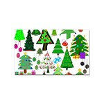 Oh Christmas Tree Sticker 100 Pack (Rectangle)
