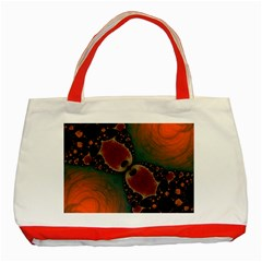 Elegant Delight Classic Tote Bag (red) by OCDesignss