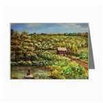 Tenant House in Summer by Ave Hurley - Mini Greeting Cards (Pkg of 8)