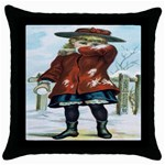 Use Muzzy s Starch Throw Pillow Case (Black)
