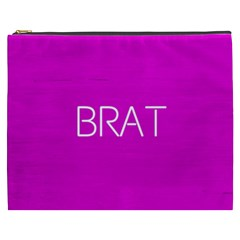 Brat Pink Cosmetic Bag (xxxl) by OCDesignss