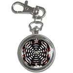Zombie Apocalypse Warning Sign Key Chain Watch