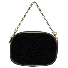 Panther Print Chain Purse (two Sided)
