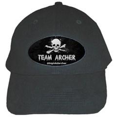 R Archer Black Baseball Cap by KattsKreations