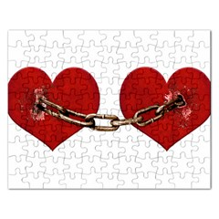 Unbreakable Love Concept Jigsaw Puzzle (rectangle) by dflcprints