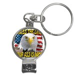 Line Nail Clippers Key Chain