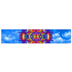 Sky Horizon Flano Scarf (small) by icarusismartdesigns