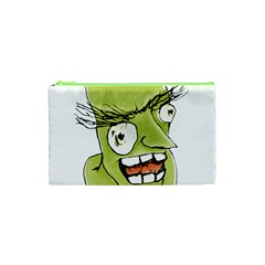 Mad Monster Man With Evil Expression Cosmetic Bag (xs) by dflcprints