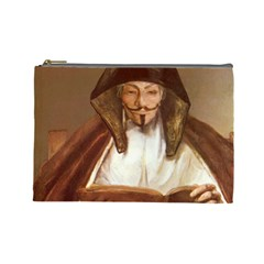Anonymous Reading Cosmetic Bag (large) by AnonMart