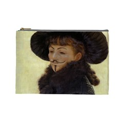 Kathleen Anonymous Ipad Cosmetic Bag (large) by AnonMart